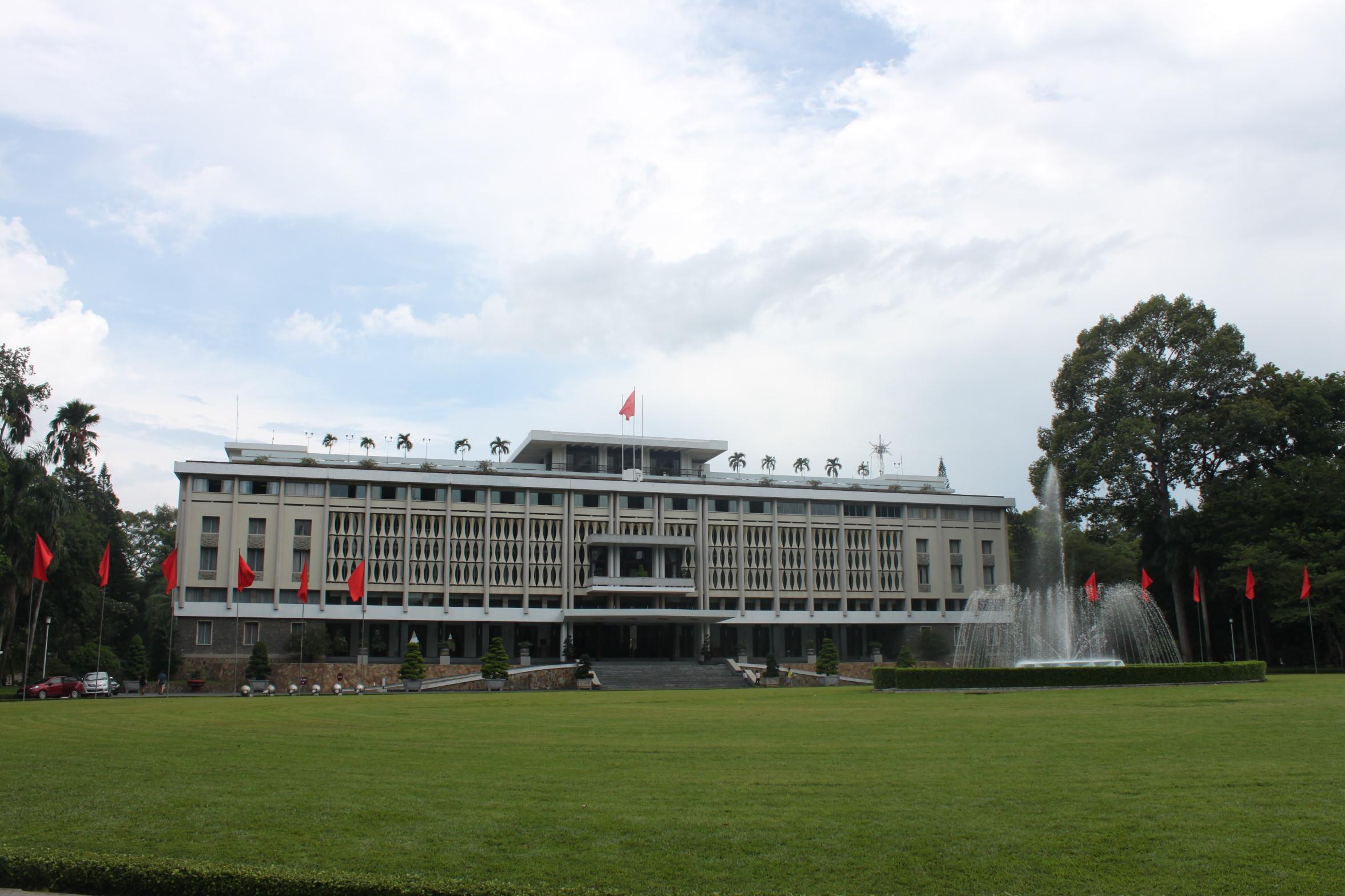 Visiting Saigon's Reunification Palace - Caroline in the City Travel Blog